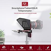 Máy nhắc chữ Bestview T2 hỗ trợ điện thoại/ máy tính bảng/ máy ảnh DSLR với điều khiển từ xa và vải vệ sinh mặt len