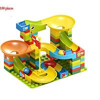 Đồ chơi lắp ráp tháp trượt lăn bi, trò chơi thách thức trí tuệ và vui nhộn cho bé từ 3 tuổi.