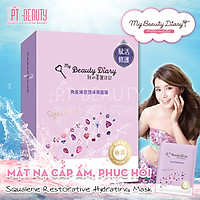 Hộp 8 Miếng Mặt Nạ My Beauty Diary Squalene - Squalene Restorative Hydrating Mask