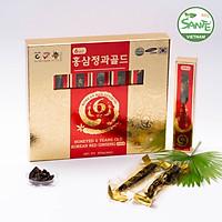 Sante365 - Hồng Sâm 6 Năm Tuổi Tẩm Mật Ong Gold hộp 300g (Honeyed 6 Years Old Korean Red Ginseng Gold)