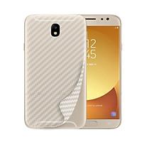 Miếng dán mặt sau vân carbon cho Samsung Galaxy J2 Pro (Trong suốt)