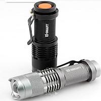 Đèn pin mini siêu sáng Cree đã bao gồm sạc và pin-Hàng nhập khẩu