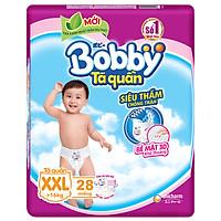 Tã Quần Bobby Gói Lớn XXL28 (28 Miếng)