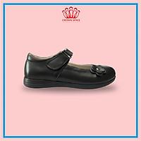Giày Búp Bê Đi Học Bé Gái Crown Space UK School Shoes CRUK3039 Cao Cấp Nhẹ Êm Thoáng Mát Size 28-36/4-14 Tuổi