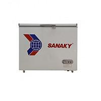 Tủ Đông Sanaky VH-285W2 2 Ngăn 2 Cánh Dàn Lạnh Nhôm (220L) - Hàng Chính Hãng