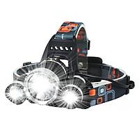 Đèn pin đội đầu 3 bóng L4 - thiết bị chiếu sáng đeo đầu tiện dụng