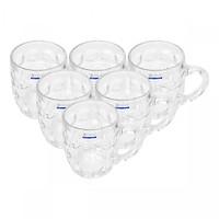 Bộ ly 6 cái Union Glass 217 Ly măng cầu nhỏ 300ml  không ngã màu,  sản xuất Thái Lan