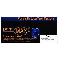 Hộp mực in Laser màu Đen PrintMAX dành cho máy HP 79A – Hàng Chính Hãng