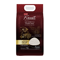 [Chỉ giao HCM] Gạo thơm ST25 Co.op Finest 5kg - 3515395