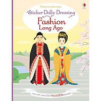 Usborne Sticker Dolly Dressing: Fashion Long Ago
