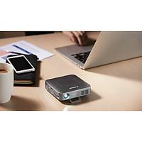 Máy chiếu mini không dây Canon MP250-S  chip xử lý quad-core 1.5GHZ, SDRAM 2GB, chiếu hình ảnh 93 inch, rạp chiếu phim ngay tại nhà. (Hàng Chính hãng)