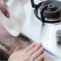 Băng keo chống thấm nhà bếp trong suốt 5cm x 3m dày 0.8mm