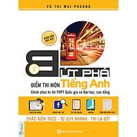 Bứt Phá Điểm Thi Môn Tiếng Anh 2 - (Tặng Video Bài Giảng + Thi Thử Online), Học kèm App TKBooks, Cào Tem Để Mở Quà Tặng