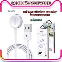 Sạc không dây dành cho đồng hồ thông minh - Dây cáp sạc nam châm dài 1 mét hàng chính hãng Yesido dành cho Apple Watch Series 1/2/3/4/5/6/Se_CA69