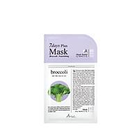 Mặt Nạ 2 Bước Tinh Chất Bông Cải Xanh  Ariul  7 Days Plus Mask Broccoli 20ml