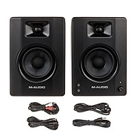 [Một Cặp] M-Audio BX4 Loa Kiểm Âm (120W) - MAudio Studio Monitor Speaker for Gaming Music Production Live Streaming Hàng Chính Hãng