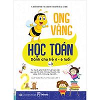 Sách Ong Vàng Học Toán Dành Cho Trẻ 4-6 Tuổi - Tập 3