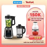 Máy làm sữa hạt, xay nấu đa năng 2 cối nóng và lạnh, hút chân không - Tefal Ultra Blend Boost BL985A31 - 1300W  - Hàng chính hãng
