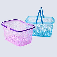 Giỏ nhựa có quai xách Lava BK153 (247*177*134mm) - Giao màu ngẫu nhiên