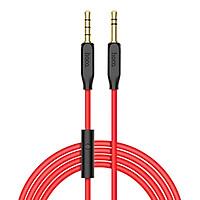 Cáp âm thanh 2 đầu 3.5 mm tích hợp Mic đàm thoại dài 1 mét HOCO UPA12 - Hàng chính hãng