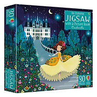 Sách tiếng Anh - Usborne Book and Jigsaw Cinderella