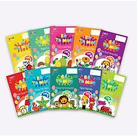 Sách tô màu theo chủ đề quen thuộc cho các bé thỏa thích sáng tạo