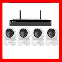 Trọn bộ kit 4 camera IP Ezviz C6N -Hàng chính hãng