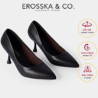 Giày cao gót Erosska thời trang bít mũi kiểu dáng thanh lịch dễ phối đồ cao 8cm EP010