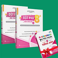 Sách -  Combo Đột phá 8+(Phiên bản 2020) môn Tiếng anh tập 1 và tập 2 (Tặng 1 cuốn Ôn luyện thi trắc nghiệm THPTQG môn Tiếng anh)