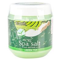 Muối Tắm Spa Mori Trà Xanh Mori Spa Salt - Green Tea (700ml)