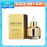Tinh Chất Chống Lão Hóa Căng Mịn Da Bergamo Premium Gold Wrinkle Care Ampoule 30ml
