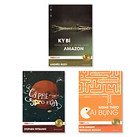 Combo TedBooks - Cà phê trên sao hỏa + Nghe theo cái bụng +  Kỳ bí dòng sông sôi trong lòng Amazon