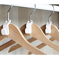 Combo 10 móc phụ tiết kiệm diện tích sử dụng cho tủ quần áo, móc áo mini đa năng Sắp Xếp Ngăn Tủ GD139-MAPhu-Trang10