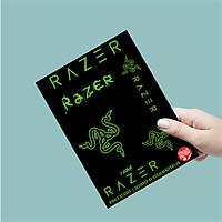 Razer - Single Sticker hình dán lẻ