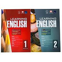 Sách : Learning English 1 và 2 -  Dành Cho Học sinh Từ 6 đến 8 tuổi ( tập 1, tập 2 )