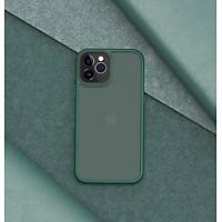 Ốp lưng iPhone 12/ 12 Pro/ 12 Pro Max Rock Guard Pro lưng nhám - hàng chính hãng