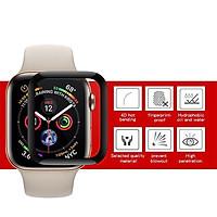 Miếng dán Cường lực Apple Watch Coteetci 4D dành cho Apple Watch (hàng chính hãng)