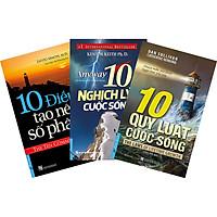 Combo: 10 Quy Luật Cuộc Sống ( 3 Cuốn): 10 Quy Luật Cuộc Sống + 10 Nghịch Lý Cuộc Sống + 10 Điều Tạo Nên Số Phận
