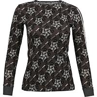 Áo T-shirt Nữ có Bo Tay_Yvette LIBBY N'guyen Paris_YVETTE COOL WT2 _Màu Xám (Volcanic Glass)_Cotton Mélange hữu cơ (Organic)
