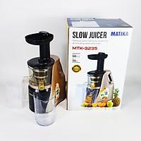 Máy Ép Chậm Matika MTK-3235 Công Nghệ Ép Thông Minh Giữ Nguyên Vẹn Vitamin-Hàng Chính Hãng
