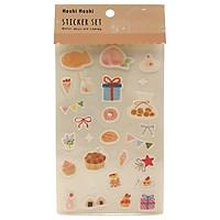 Sticker Set 009 - Mẫu 2 - Thế Giới Bánh