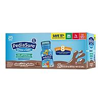 Sữa nước Pediasure Grow & Gain Chocolate Shake (Vị Sô-cô-la) 237ml x 24 Chai (Thùng) Mẫu mới 2020 - Nhập khẩu Mỹ
