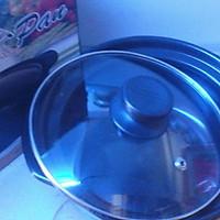Nồi sứ nắp kính- 2,5 lit