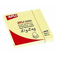Bộ 2 APLI_Giất Note 75x75 Zig Zag_12078