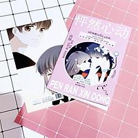 Album ảnh Mini Photobook Con tim rung động anime chibi