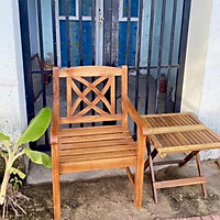 Ghế gỗ đơn cà phê, trong nhà hoặc sân vườn