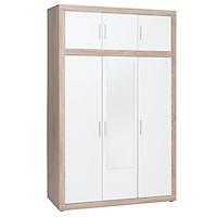 Tủ Quần Áo Favrbo Plus 3 Cánh JYSK 3659424 (139 x 220 x 60 cm)