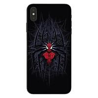 Ốp lưng dành cho điện thoại iPhone X, XS in họa tiết Siêu nhân nhện