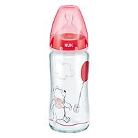 Bình Sữa NUK Thủy Tinh Disney (240ml) Núm Ti Silicone...