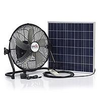 Quạt tích điện 2 trong 1 SUNTEK S99  sạc bằng năng lượng mặt trời - Hàng chính hãng
